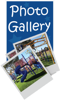 Photo gallery of playground and fitness equipment