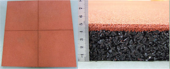 Softfall rubber surfacing example images