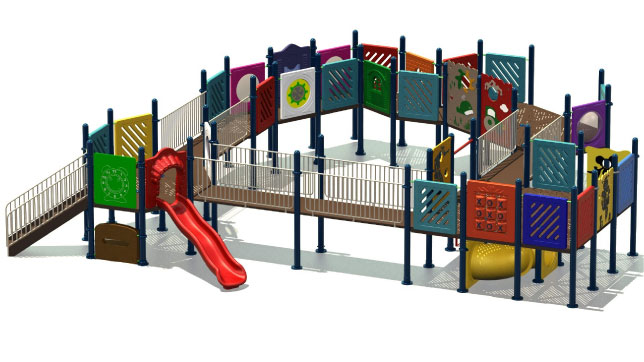 disabled playground equipment