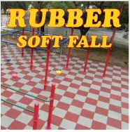 soft fall rubber