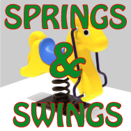 Spring Riders and Swing Sets