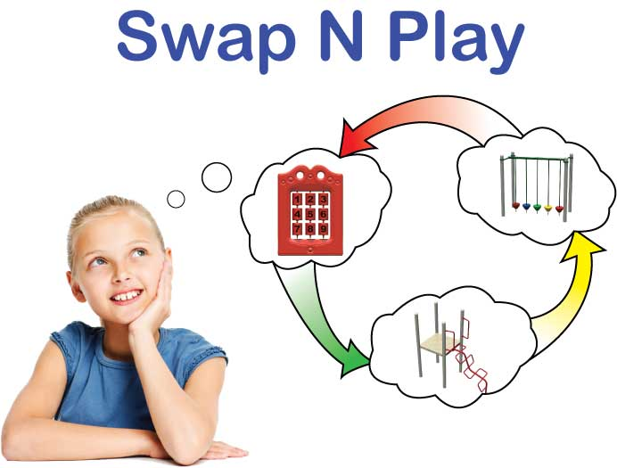 Swap N Play Playground equipment